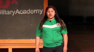 My Story of Immigration | Miriam Martinez | TEDxCarverMilitaryAcademy