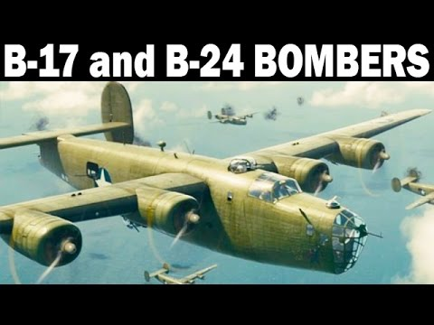 American B-17 and B-24 Bombers Over the Eastern Front | 1944 | World War 2 Documentary