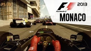 F1 2013 Gameplay - Monaco Classic Cars (Lotus 98T)