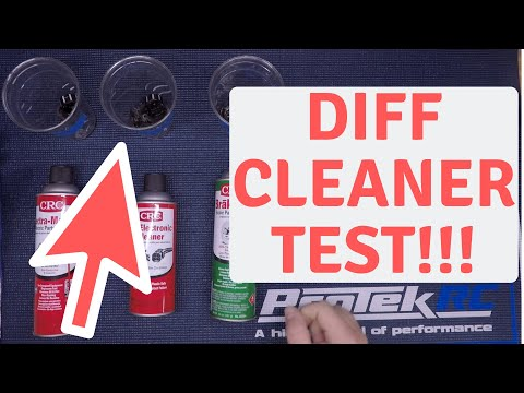 How To clean diff fluid or shock fluid from rc cars