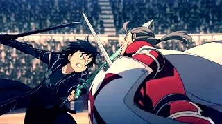 AMV Sword Art Online (Linkin Park - By Myself)
