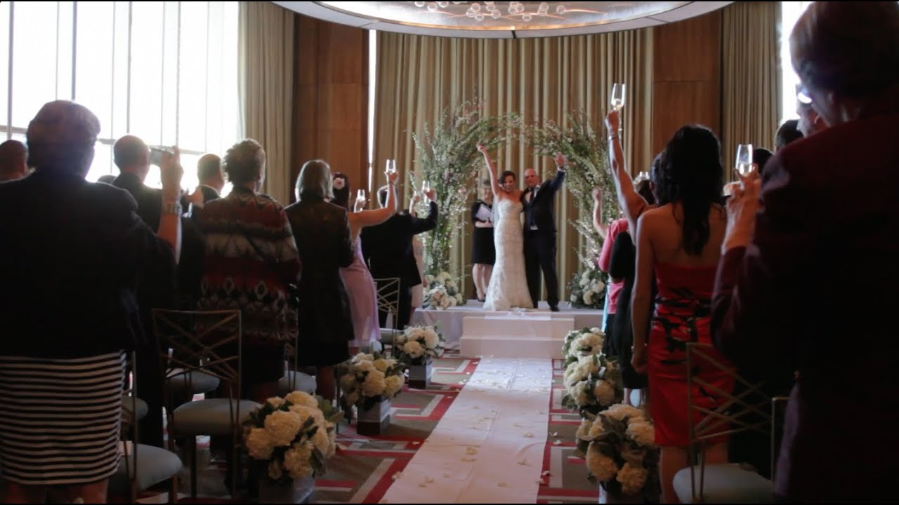 Andrea & Brian Get Married at the Mandarin Oriental, Las Vegas ...