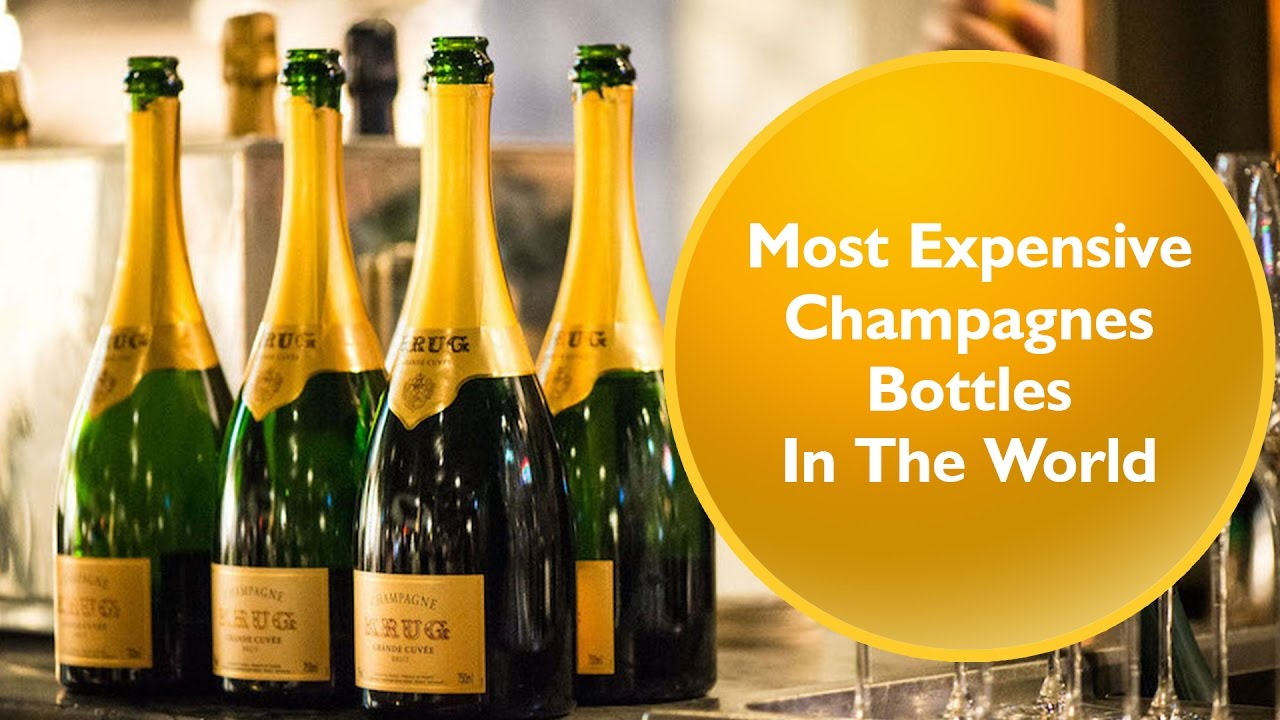 top ten most expensive champagnes bottles in the world - youtube