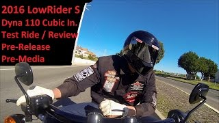 2016 Low Rider S Harley-Davidson Test Ride & Review