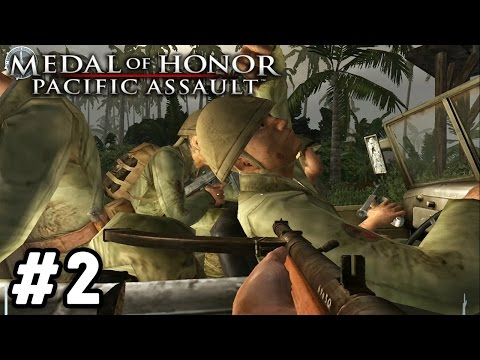 RESCUE THE PILOT! | Medal of Honor: Pacific Assault Campaign Walkthrough #2