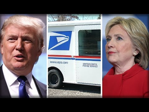 Breaking: USPS Broke The Law During 2016 Election - New Report