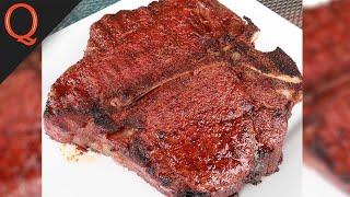 Giant 5lb Porterhouse Steak   Took 4 Men to Finish It!