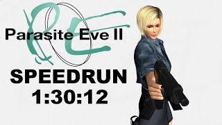 Parasite Eve II New Game Speedrun 1:30:12