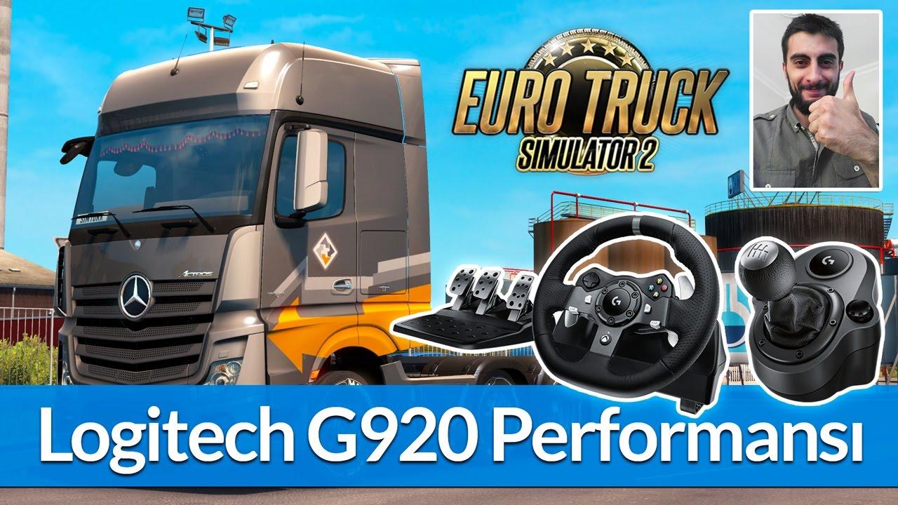 e1430a23c51 Euro Truck Simulator 2 – Logitech G920 İncelemesi / Ayarlar / Performans /  Video