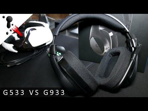 Logitech G533 Wireless Headset Review (VS G933) - YouTube