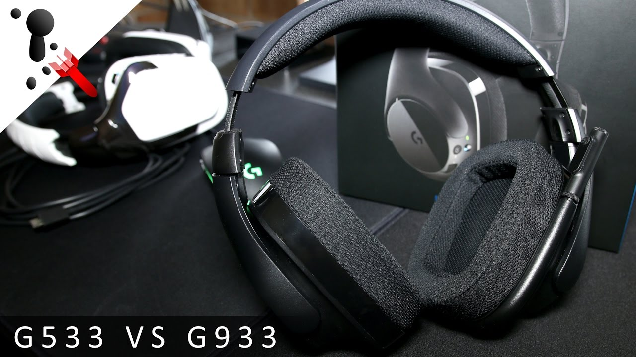 Logitech G533 Wireless Headset Review (VS G933)