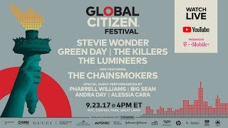 Global Citizen Festival, Central Park NYC | LIVE on YouTube presented by T-Mobile thumbnail