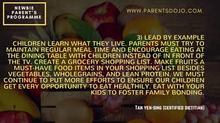 6 Tips To Get Your Kids To Eat Some Fruits Without Forcing Them by Ms Tan Yen Sing
