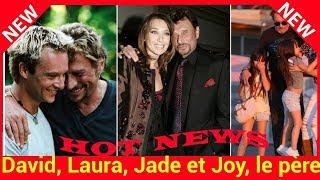 Mort de Johnny Hallyday : David, Laura, Jade et Joy, le père qu'il était pour ses enfants