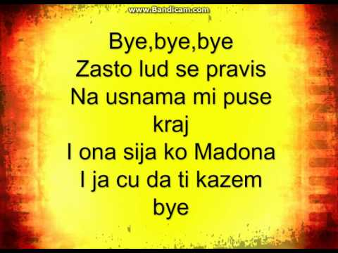 SANDRA AFRIKA FT. COSTI - BYE BYE - LYRICS