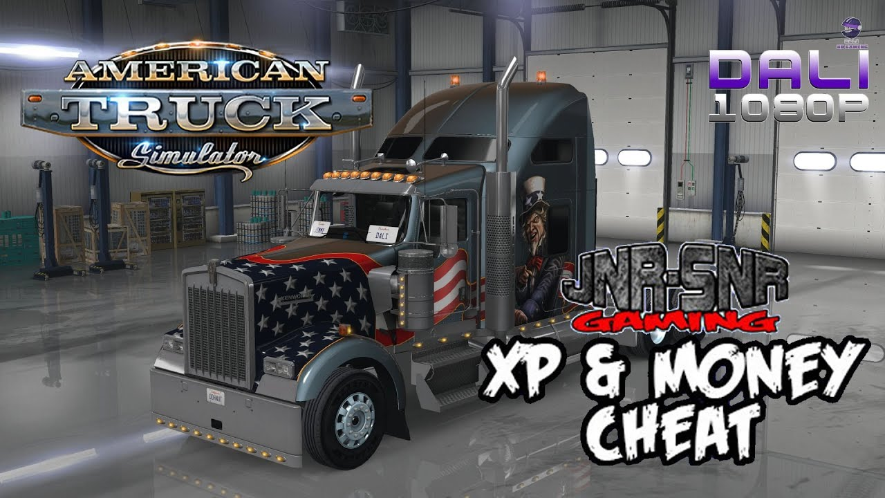 ATS & ETS 2 - Level up quick with JNR-SNR Money & XP cheat (Steam Workshop)