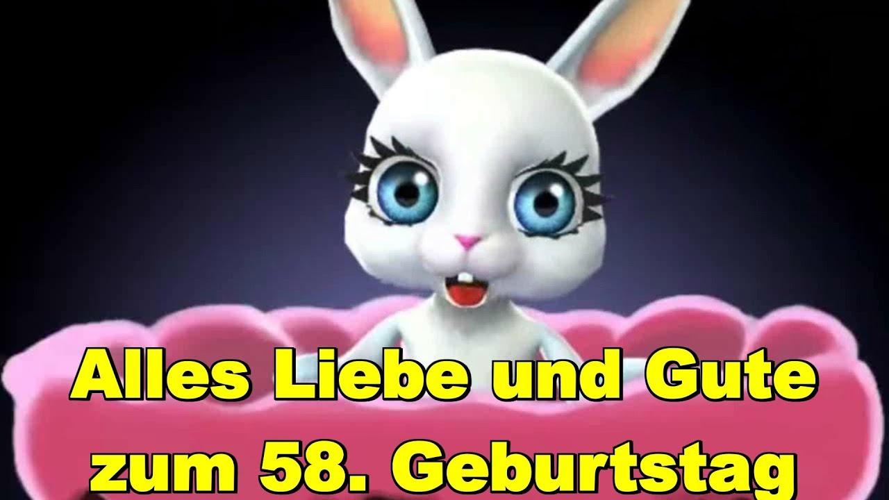 GlГјckwГјnsche Zum 58. Geburtstag