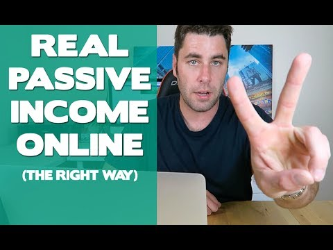 10 Ways to Make Passive Income Online That You Can Start Tod