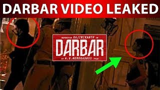 Viral Video | Darbar Shooting Spot Video Leaked AR Murugadoss Shocked…!