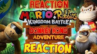 ABM Reaction: Cranky Kong & Funky Kong Reacts Mario+Rabbids Kingdon Battle Donkey Kong Adventure DLC