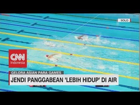 Jendi Panggabean 'Lebih Hidup' di Air | Asian Para Games 2018