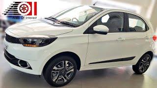 2019 Tata Tiago XZ+ (XZ Plus) Pearl White | Top Model | Price | Mileage | Features | Interior