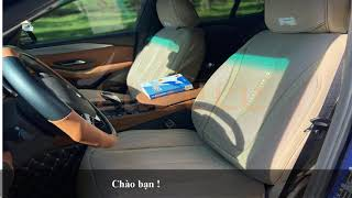 ♻️💕Bảo vệ Da ghế Jin & Sang trọng Đẳng Cấp cho xế yêu với Bộ áo bọc ghế ô tô SaDoSe - Luxury Plus