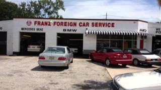Saab Auto Repair Jacksonville Florida - Franz Foreign Car Service