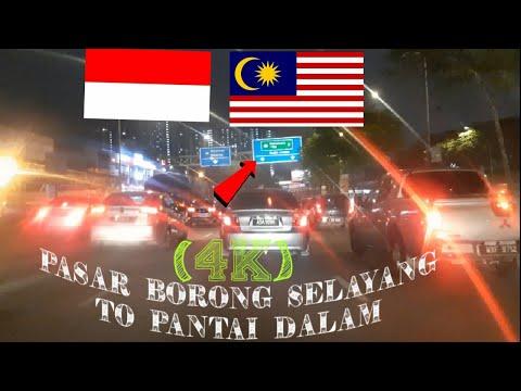 2021 Drive in malaysia pasar borong selayang to pantai dalam