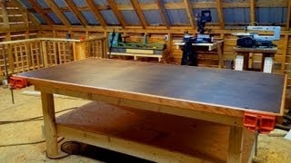 Heavy Duty Shop Table ..... Diy Woodshop