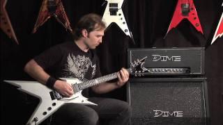 DEAN GUITARS® Amplificador Guitarra Cabezal DIME D100 120W video