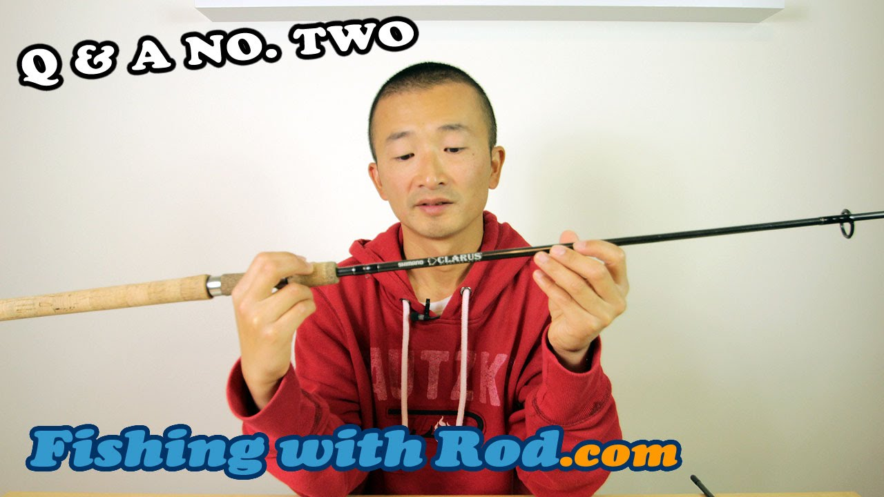Fishing q a no 2 most versatile setup for beginners for Fishing pole setup beginners