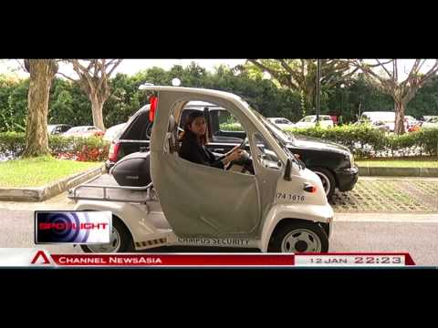 Testing of electric cars in S'pore moves into second phase - 12Jan2014
