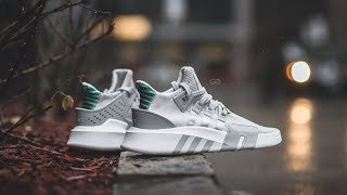 "Review & On-Feet: Adidas EQT Basketball ADV ""Grey / Green"""