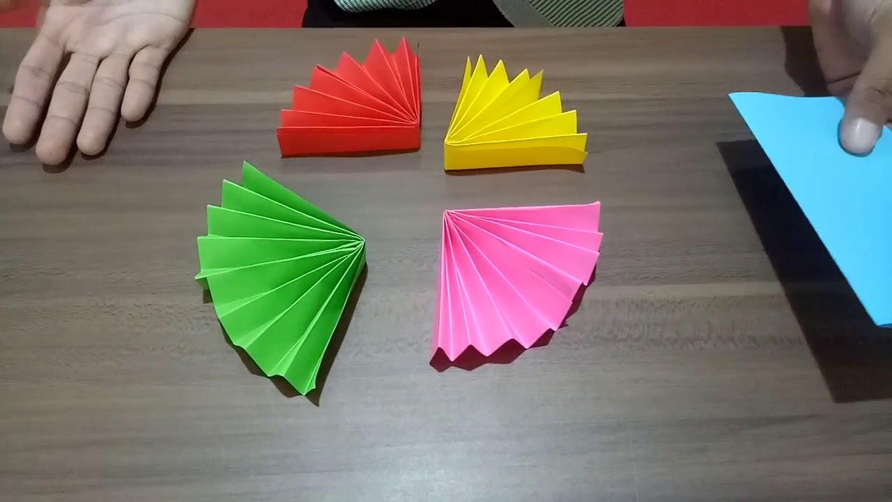 Membuat Hiasan Dinding Dari Kertas Origami