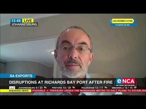 SA Exports | Disruptions at Richards Bay port after fire