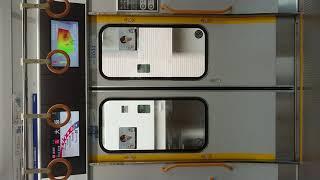 JR 大阪環状線 扉 閉 天満駅~大阪駅