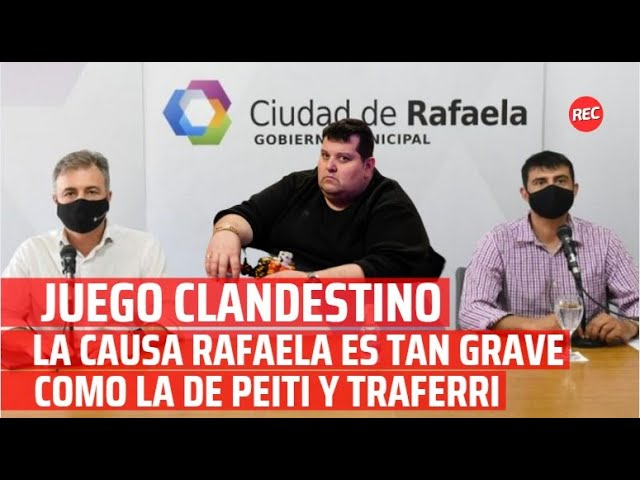 Juego Clandestino: la causa Rafaela es tan grave como la de Peiti y Traferri