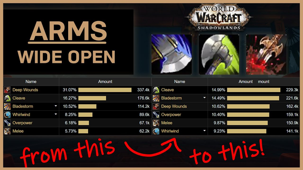 Is Arms Warrior Good In Shadowlands A Top Mythic Raider S Review Youtube