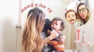 un día en la vida de una mamá joven