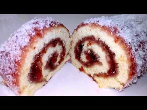recette-gâteau-roulé-à-la-confiture-(facile-et-rapide)