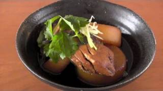 Buri Daikon (Simmered Yellowtail) Recipe 美味しいブリ大根の作り方 レシピ