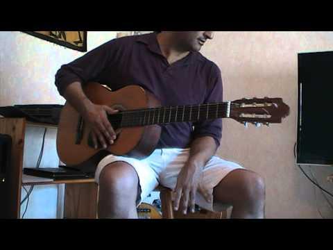 Cours ( tuto ) guitare pour La mer - Charles Trenet ( partition en tab )