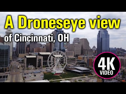The Queen City - Cincinnati In 4k UHD