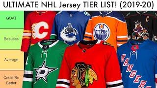 ULTIMATE NHL JERSEY TIER LIST! (2020)