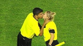 Futbol Severlerin Kesinlikle İzlemesi Gereken Sıcak Kadın Hakemler ve Yaptıkları.