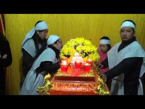 lễ tang bà phạm thị gấm thi xã chí linh 1