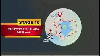 2018 Ronda Pilipinas Stage 10 Highlights