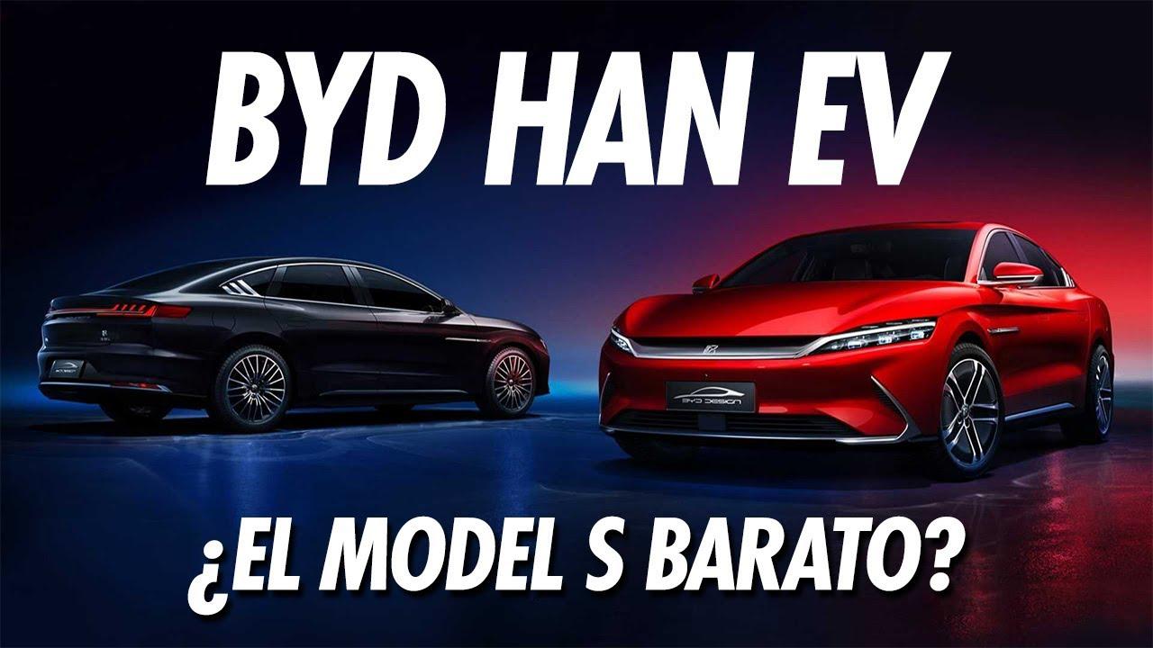 BYD HAN EV: el Tesla Model S BARATO   Eduardo Arcos