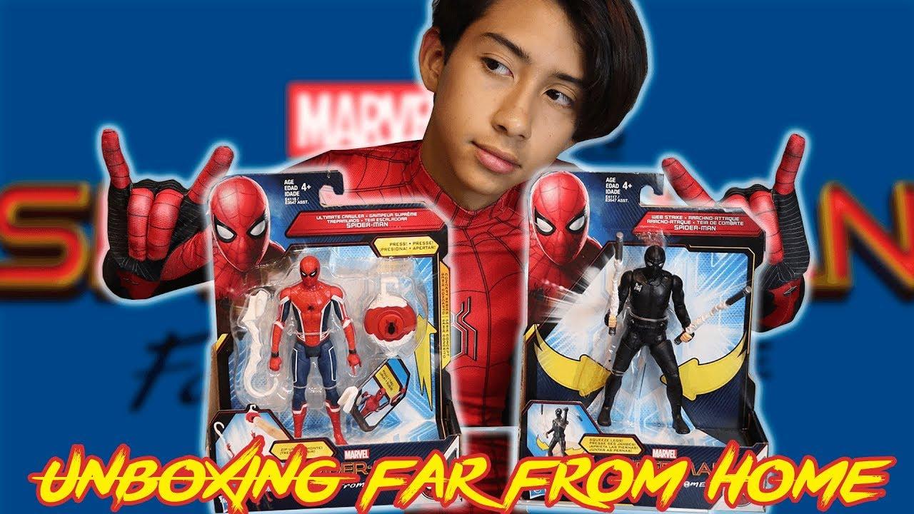 Ivanspidey Juguetes Spiderman Home Abriendo De Far From D2E9IWH